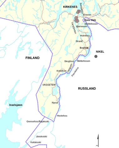 pasvikelva kart Vannkraft | Det grenseløse vannet
